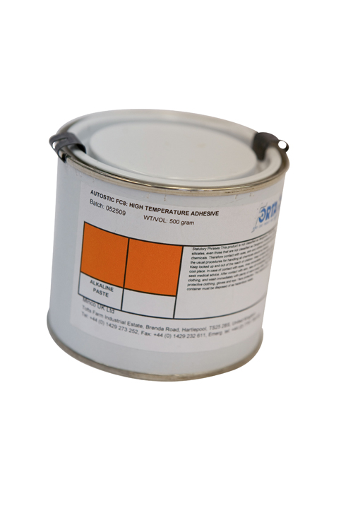 An air curing cement for potting and protecting temperature sensors and heaters.