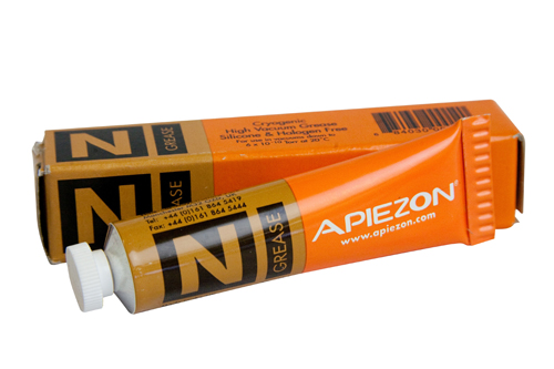 Apiezon N Grease is a high vacuum grease. Used for making thermal contact between sensors and cold s