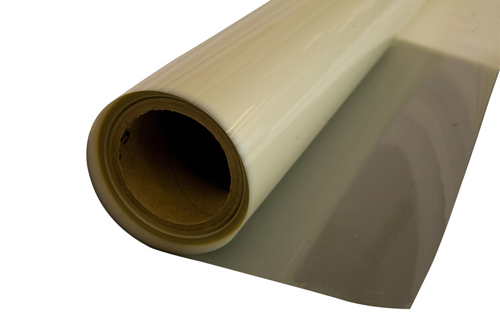 A clear Mylar film 900mm wide. Clear Mylar is ideal for insulation use on cryogenic equipment and wi