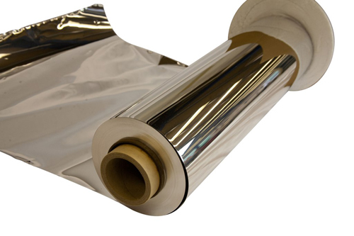 High purity foil with low emmissivity qualities that make it ideal for superinsulation below 77K.