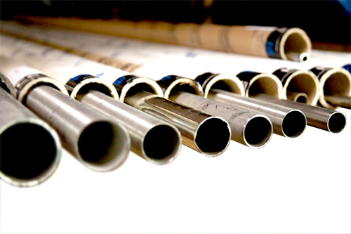AISI 321 specification stainless steel rolled and welded tubing with bead reduced.