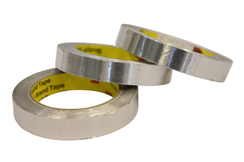A self adhesive tape for joining superinsulation or aluminised Mylar. Also useful for covering unwan