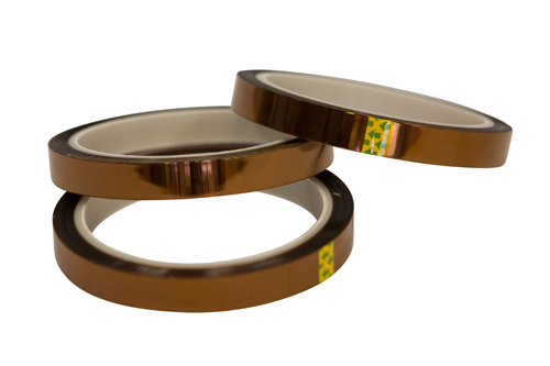 A self-adhesive insulating tape for high and low temperature applications. Excellent electrical