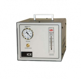 Nitrogen gas flow control box features a Nitrogen gas flow gauge (0-10 l/min), pressure in