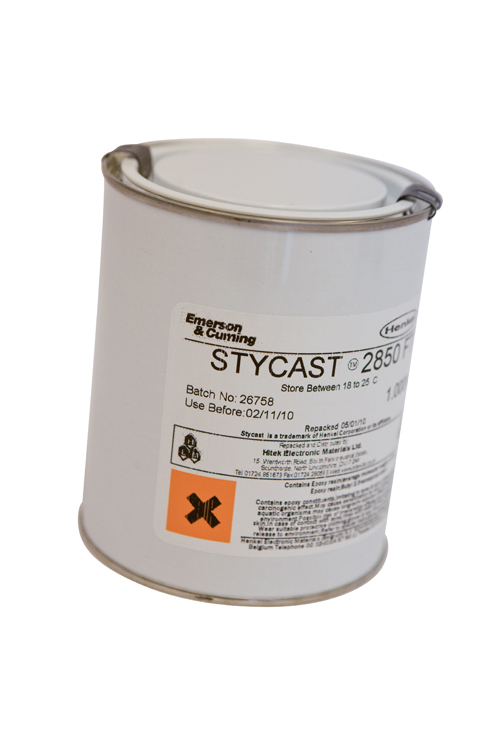 An epoxy resin with a silica binder, with thermal expansion matched to copper. Excellent thermal cyc